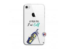 Coque iPhone 4/4S Je Peux Pas J Ai Golf