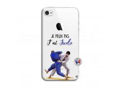Coque iPhone 4/4S Je peux pas j'ai Judo