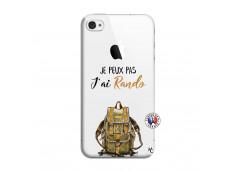 Coque iPhone 4/4S Je Peux Pas J Ai Rando