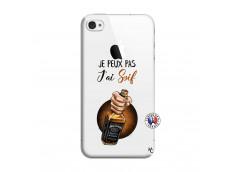 Coque iPhone 4/4S Je Peux Pas J Ai Soif