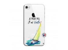 Coque iPhone 4/4S Je Peux Pas J Ai Voile