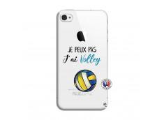 Coque iPhone 4/4S Je Peux Pas J Ai Volley
