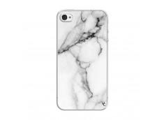 Coque iPhone 4/4S White Marble Translu