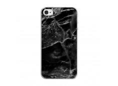 Coque iPhone 4/4S Black Marble Translu