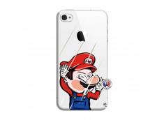 Coque iPhone 4/4S Mario Impact