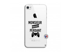 Coque iPhone 4/4S Monsieur Mauvais Perdant