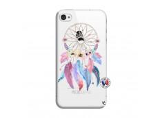 Coque iPhone 4/4S Multicolor Watercolor Floral Dreamcatcher