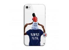 Coque iPhone 4/4S Papa Super Heros