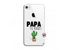 Coque iPhone 4/4S Papa Tu Piques