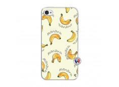 Coque iPhone 4/4S Sorbet Banana Split Translu