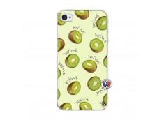 Coque iPhone 4/4S Sorbet Kiwi Translu