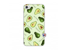 Coque iPhone 4/4S Sorbet Avocat Translu