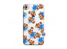 Coque iPhone 4/4S Poisson Clown