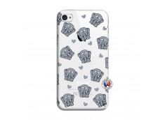 Coque iPhone 4/4S Petits Elephants