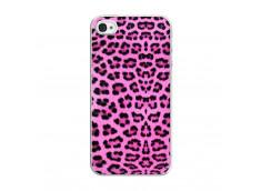 Coque iPhone 4/4S Pink Leopard Translu