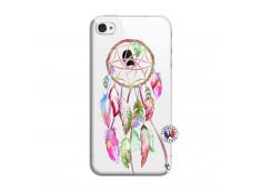 Coque iPhone 4/4S Pink Painted Dreamcatcher