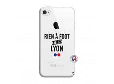 Coque iPhone 4/4S Rien A Foot Allez Lyon