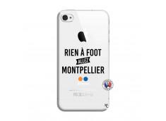 Coque iPhone 4/4S Rien A Foot Allez Montpellier