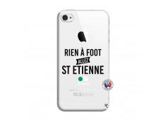 Coque iPhone 4/4S Rien A Foot Allez St Etienne