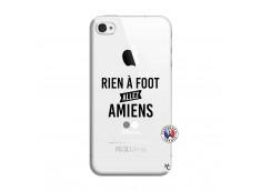 Coque iPhone 4/4S Rien A Foot Allez Amiens