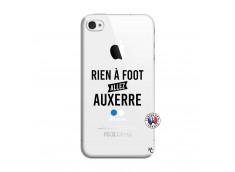 Coque iPhone 4/4S Rien A Foot Allez Auxerre