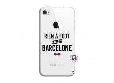 Coque iPhone 4/4S Rien A Foot Allez Barcelone
