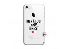 Coque iPhone 4/4S Rien A Foot Allez Brest
