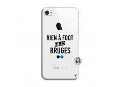 Coque iPhone 4/4S Rien A Foot Allez Bruges