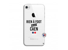 Coque iPhone 4/4S Rien A Foot Allez Caen