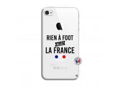Coque iPhone 4/4S Rien A Foot Allez La France