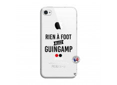 Coque iPhone 4/4S Rien A Foot Allez Guingamp