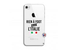 Coque iPhone 4/4S Rien A Foot Allez L'Italie