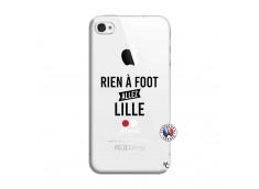 Coque iPhone 4/4S Rien A Foot Allez Lille