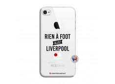 Coque iPhone 4/4S Rien A Foot Allez Liverpool