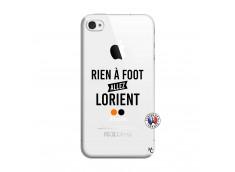 Coque iPhone 4/4S Rien A Foot Allez Lorient