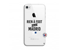 Coque iPhone 4/4S Rien A Foot Allez Madrid