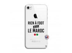 Coque iPhone 4/4S Rien A Foot Allez Le Maroc