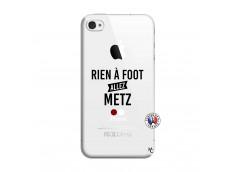 Coque iPhone 4/4S Rien A Foot Allez Metz