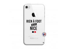 Coque iPhone 4/4S Rien A Foot Allez Nice