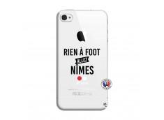 Coque iPhone 4/4S Rien A Foot Allez Nimes