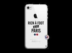 Coque iPhone 4/4S Rien A Foot Allez Paris