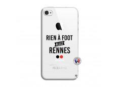 Coque iPhone 4/4S Rien A Foot Allez Rennes