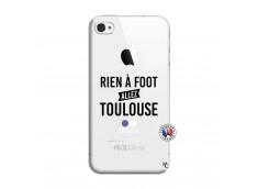 Coque iPhone 4/4S Rien A Foot Allez Toulouse