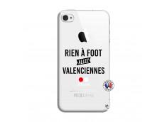 Coque iPhone 4/4S Rien A Foot Allez Valenciennes