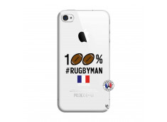 Coque iPhone 4/4S 100% Rugbyman