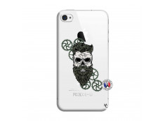 Coque iPhone 4/4S Skull Hipster
