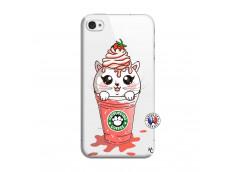 Coque iPhone 4/4S Catpucino Ice Cream