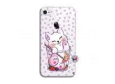 Coque iPhone 4/4S Smoothie Cat