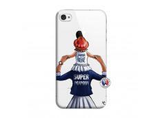 Coque iPhone 4/4S Super Maman Et Super Bébé