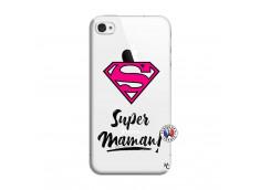 Coque iPhone 4/4S Super Maman
